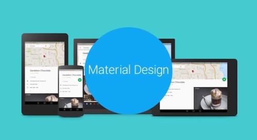 轻松打造你的Material Design Stlye手机桌面