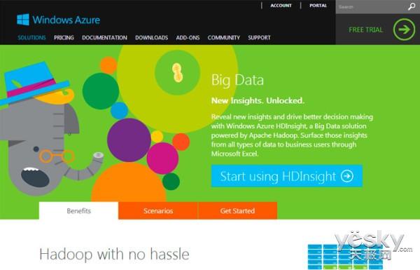 微软向Linux用户提供Hadoop on Azure服务