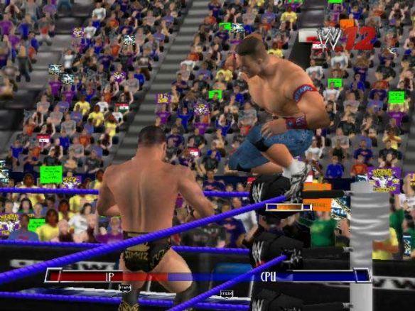 世界职业摔跤:终极碰撞2012截图2