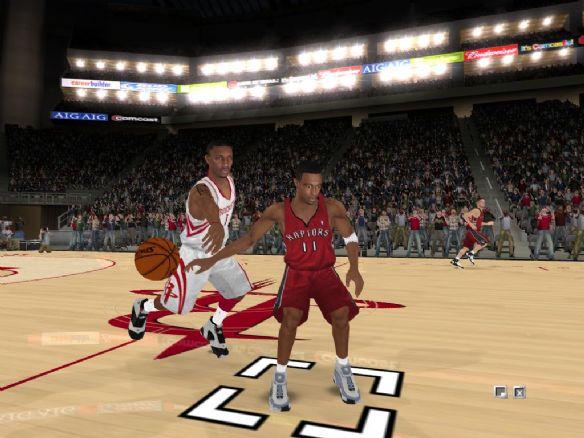NBA live 2008截图2