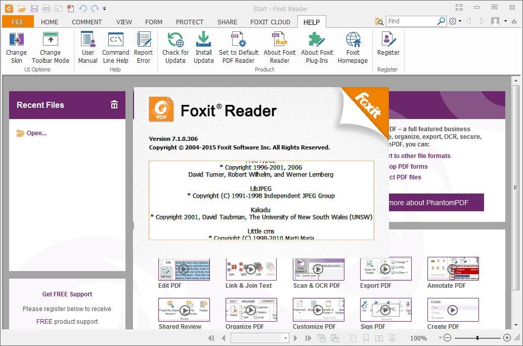 Foxit PDF Reader截图5