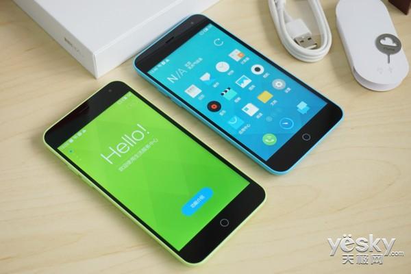轻快如水温冷灵动 绿色版魅蓝手机赏析