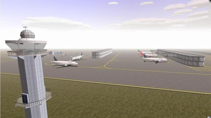 机场塔台模拟2012截图3