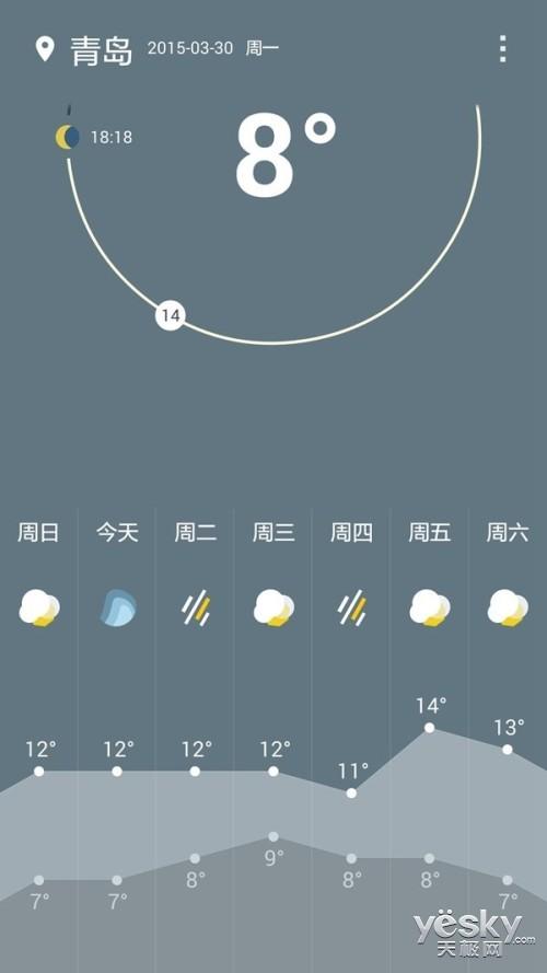 氢OS首个内置应用 一加发布天气APP一加天气