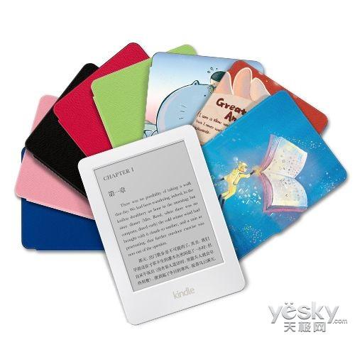 白色版Kindle电子书中国首发:售价499元起