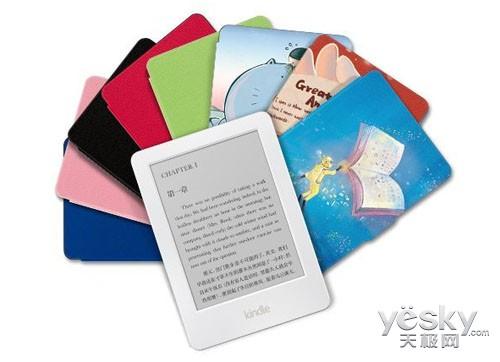 亚马逊白色Kindle电子书阅读器今日正式发货