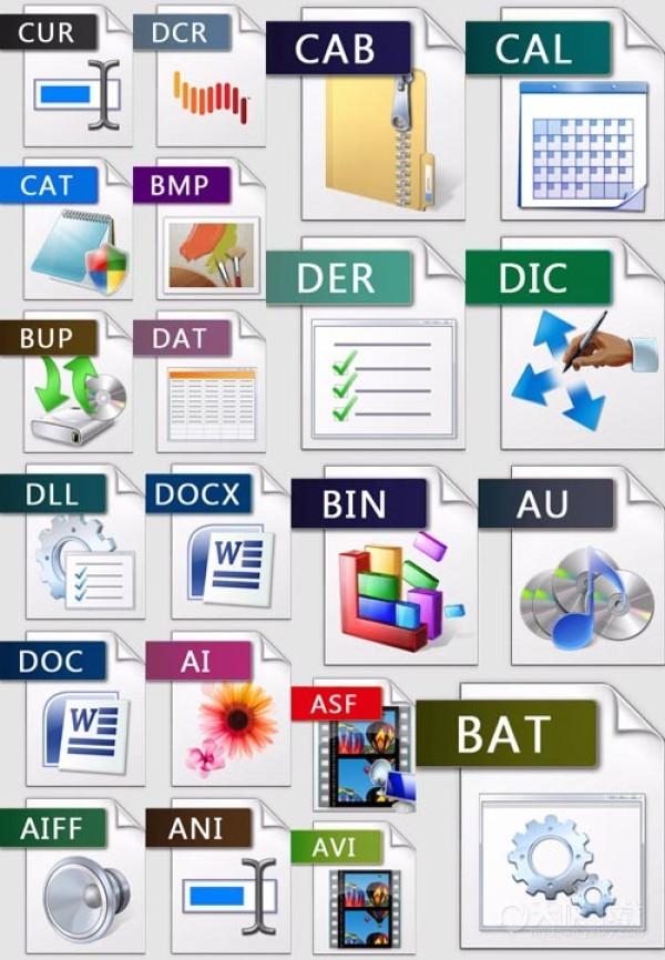 电脑文件类型有哪些_文件类型有哪些
