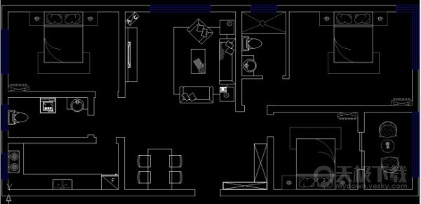 cad怎么在布局里画图_CAD布局里画图
