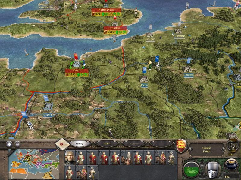 中世纪:全面战争截图5