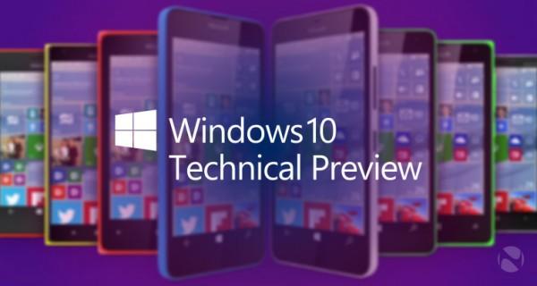 全新Windows 10 for Phone技术预览版发布