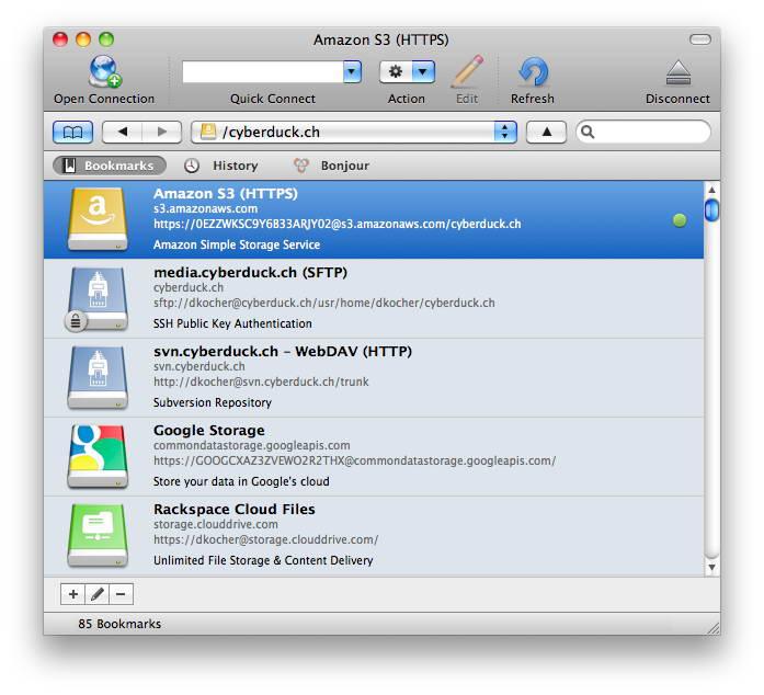 Cyberduck For Mac截图1