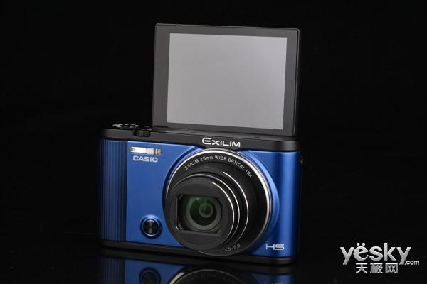 美丽时尚新机 卡西欧ZR2000相机外观评测