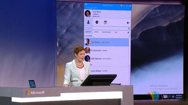 据称Skype for Business本周五登陆WP平台