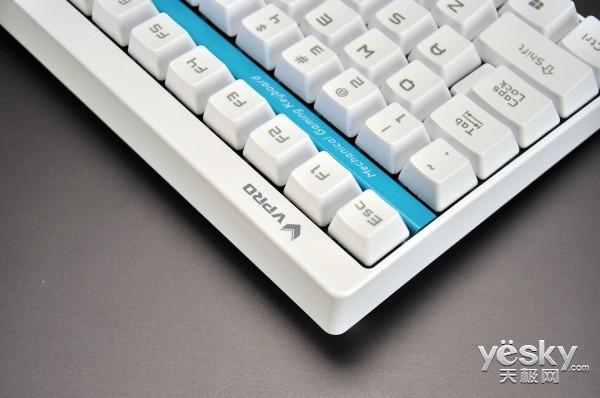 199不只小米 雷柏V500黑轴机械键盘白色上市