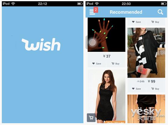 购物应用Wish估值超30亿 欲做中国直购电商