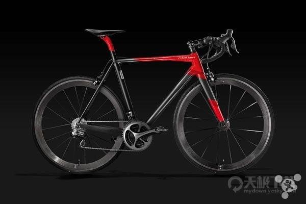 12万元,全球限量奥迪奢侈自行车开卖