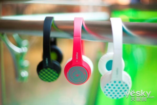 雷柏时尚蓝牙耳机S100 不仅催泪歌神