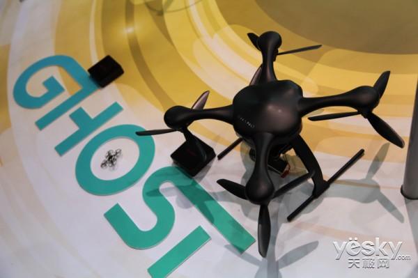 上海CES Asia展Ghost空中机器人夺眼球