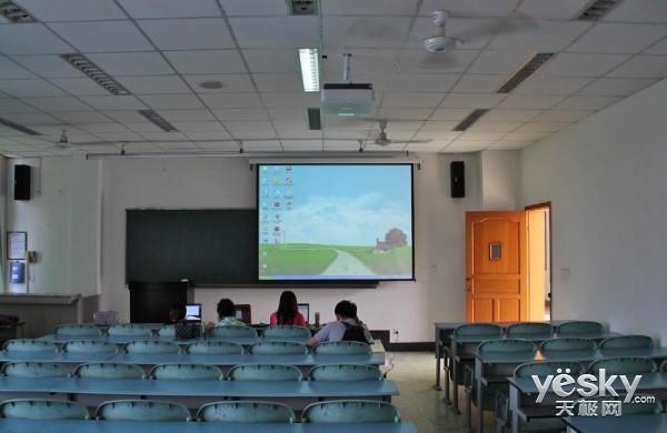 精彩呈现之乐山多媒体教室图片