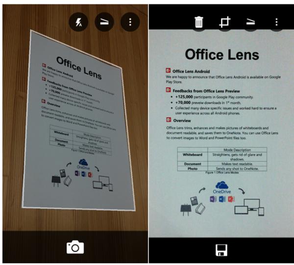 微软正式发布安卓版办公软件 Office Lens