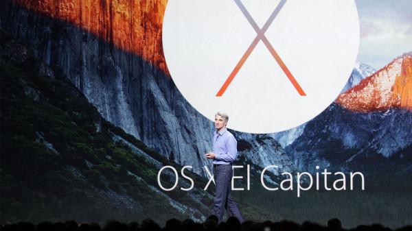 WWDC 2015: 苹果OS X El Capitan正式发布