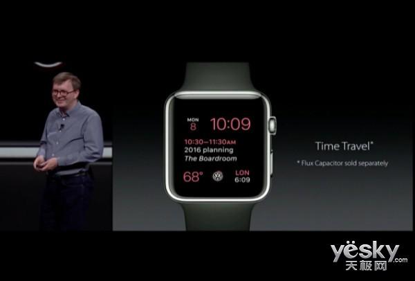 增多种个性化表盘 苹果发全新Watch OS系统