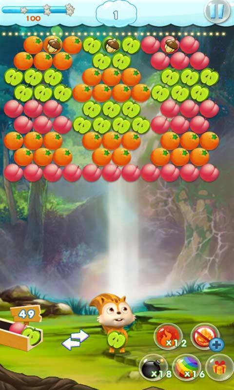 水果泡泡龙截图2