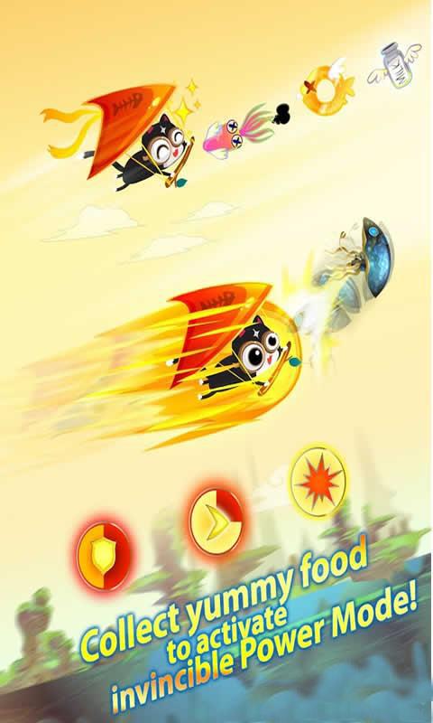 滑翔的小猫截图3