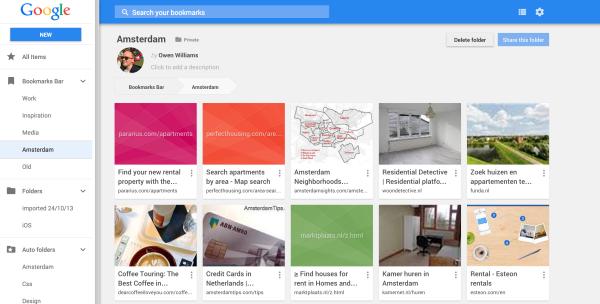 谷歌已悄然撤下Chrome新版书签管理器