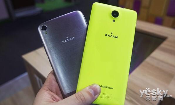 Kazam确认与微软合作 将推Win10 Mobile手机