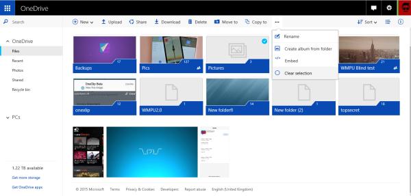 新版网页版OneDrive上手体验 美观实用