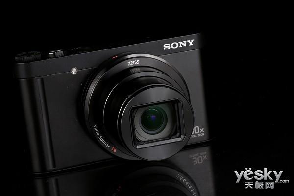 将旅行装进口袋 索尼WX500数码相机外观赏