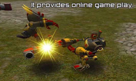 机器人大战截图2