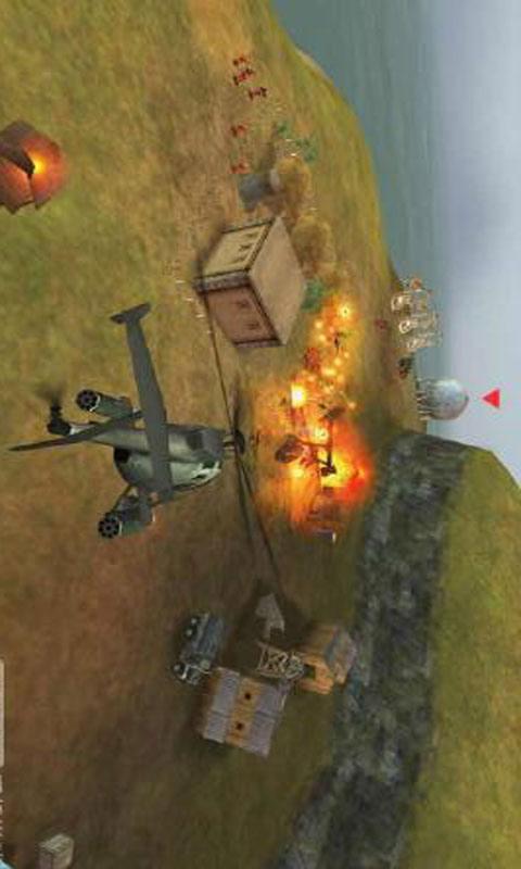 炮艇战3D直升机截图1