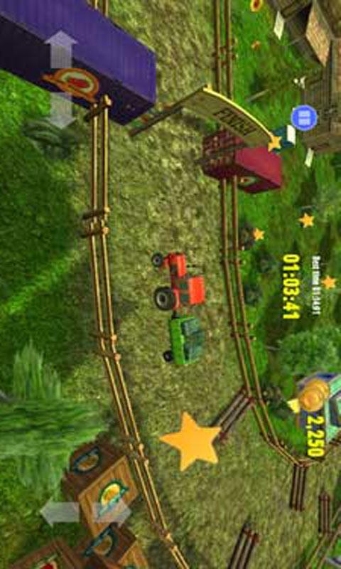 农场拖拉机技能竞赛截图2