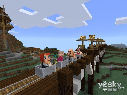 微软将同步推出Win10系统和Minecraft游戏