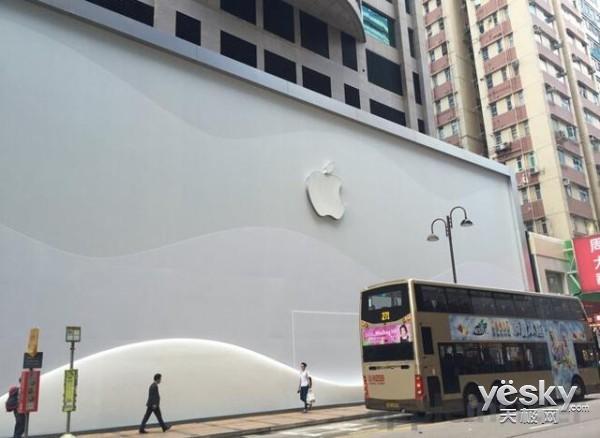 苹果或将在香港开建全亚洲最大的零售店