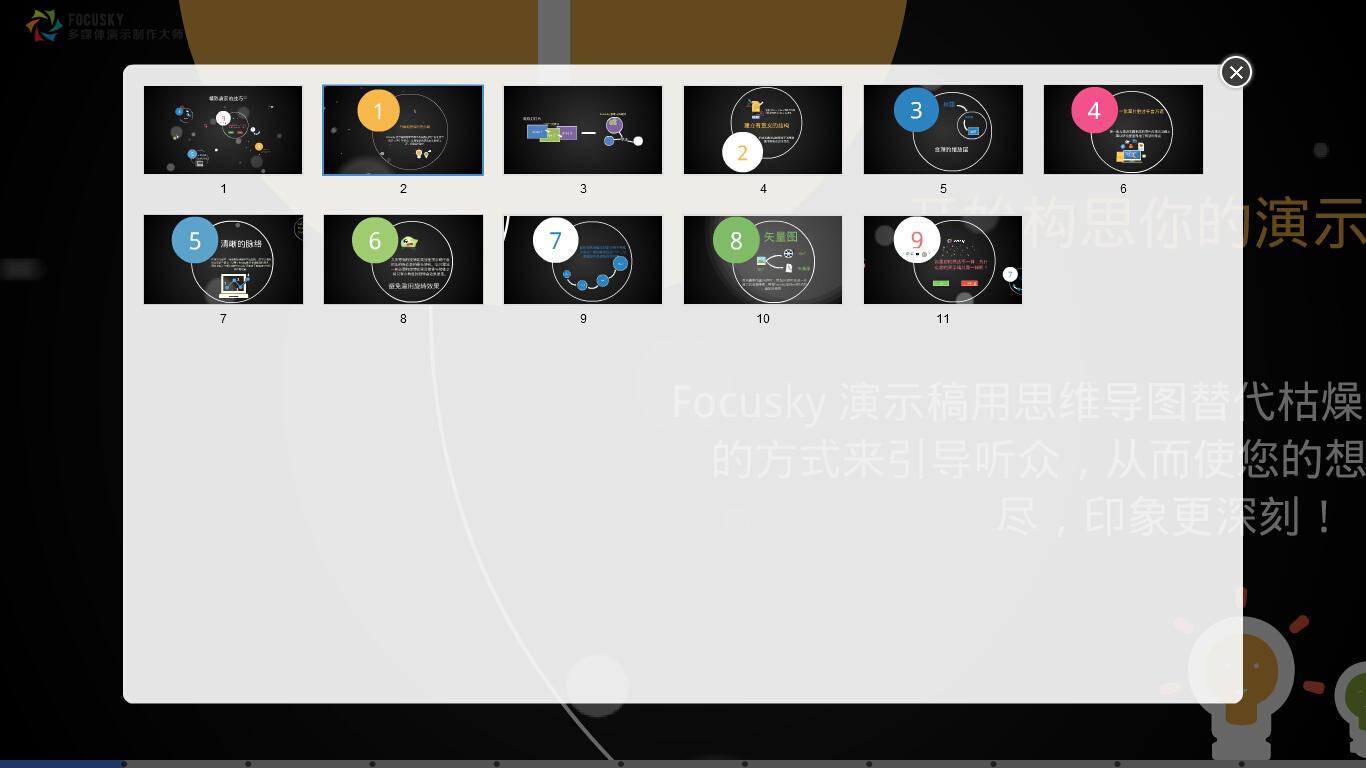 Focusky多媒体演示制作大师截图4
