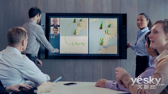 微软Surface Hub将推迟上市 售价近2万美元