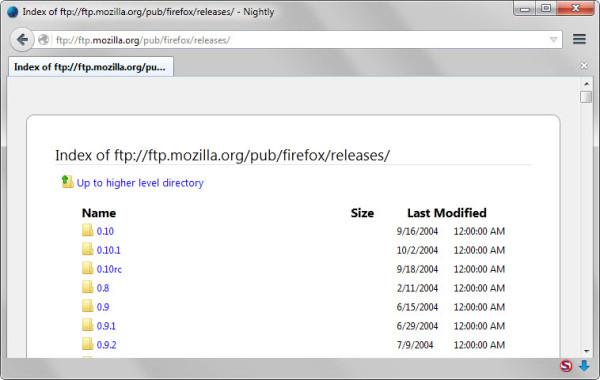 Chrome和Firefox 浏览器考虑停止FTP支持