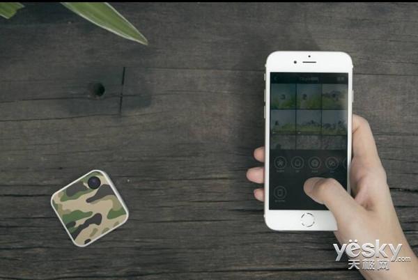腾讯推微型相机Qlippie 支持视频流媒体直播