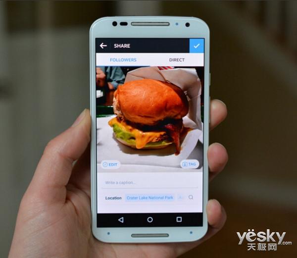 安卓版Instagram应用更新 新增快速编辑功能