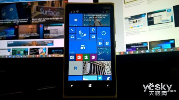 微软南非高管暗示Win10 Mobile将于11月发布