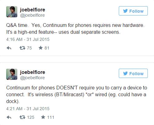 微软Joe Belfiore自曝Lumia 950真机照?