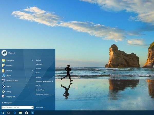 Stardock CEO:Windows 10开始菜单如鸡肋