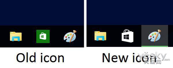 Win10商店更新 修复任务栏图标新增播放按钮