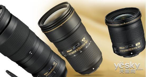 尼康发布三款全新尼克尔系列镜头 售750美元