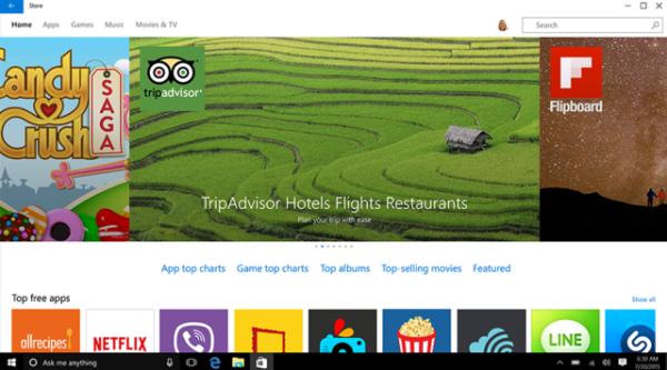 微软推Windows 10计划曝光:窃走苹果应用