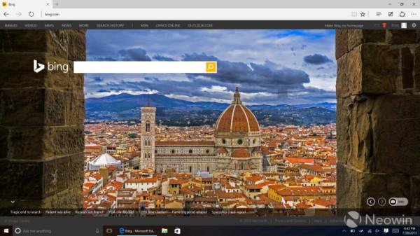 微软Edge浏览器已经入驻虚拟机供开发者测试
