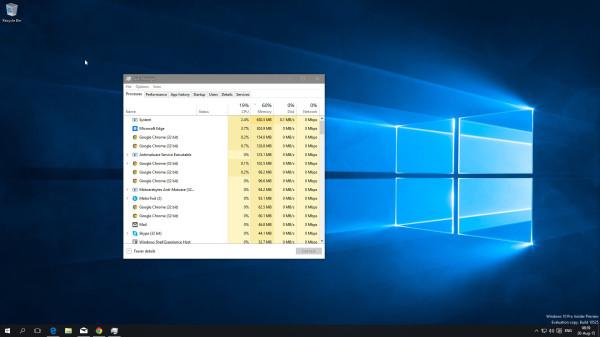 Windows 10新预览版占据了大量内存?别担心